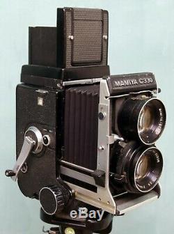 Mamiya C330F Professional F Medium Format with 80mm 2.8 Sekor Lens