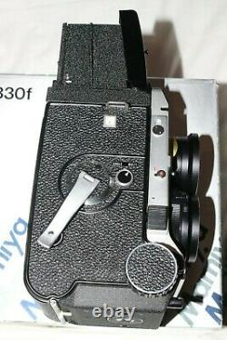 Mamiya C330F TLR + 80mm f2.8 Blue Spot Lens Virtually Mint Boxed & Complete