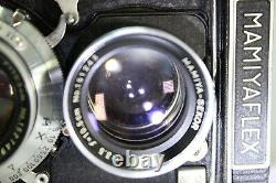 Mamiyaflex C2 TLR Film Camera withSekor 13.5 Lens #E002e