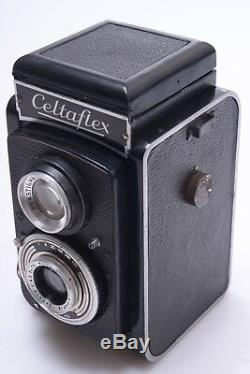 Mecaoptic Celtaflex Very Rare Tlr 120 Roll Film Camera Boyer Saphir 75mm 4.5