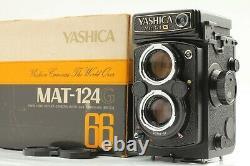 Meter Works! NEAR MINT Yashica MAT 124G 6x6 TLR Medium Format Camera JAPAN