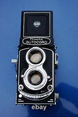 Minolta Autocord 6x6 medium format TLR Rokkor lens reflex camera