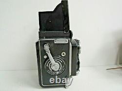 Minolta Autocord Chiyoko TLR Camera Rokkor 13.2/13.5 75mm Lens withCase & Manual