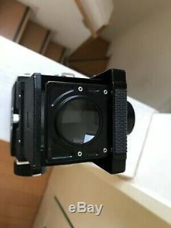 Mint+3 with Strap Mamiya C220 TLR Camera Sekor 135mm F4.5 Blue Dot from JAPAN