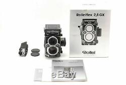 Mint withBox ROLLEIFLEX 2.8GX 6x6 TLR Camera withPlanar 80mm f/2.8 HFT Lens 6365