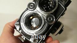 Minty Fully Working Rolleiflex Rollei 3.5f Tlr Camera Carl Zeiss Planar Lens