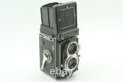 N MINT++ Case Rolleiflex Rollei T TLR Carl Zeiss Tessar 75mm f3.5 Lens Japan