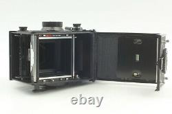 N. MINT Meter Works Yashica Mat 124G TLR Film Camera 80mm f/3.5 From JAPAN #536