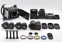 N MINTMamiya C330 TLR Film Camera 55mm f/4.5 105mm f/3.5 180mm f/4.5 JAPAN