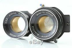N-Mint Mamiya C330 Pro Medium Format TLR + Blue dot Sekor 80mm F/2.8 f Japan