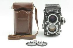 N Mint Rollei Rolleiflex 2.8F TLR Camera with Planar 80mm, Case from Japan 1636