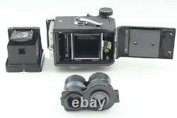 NEAR MINT MAMIYA C330 Pro TLR Camera with 135mm F/4.5 Blue dot Lens From Japan