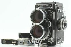 NEAR MINT Meter Wokrs Tele Rolleiflex Rollei White Face Sonnar 135mm F/4 JAPAN