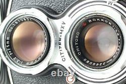 NEAR MINT Minolta Autocord TLR Camera Chiyoko Rokkor 75m f/3.5 Lens From JAPAN