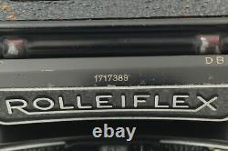 NEAR MINT Rolleiflex 3.5D TLR 6x6 Camera Tessar 75mm F/3.5 Lens From Japan