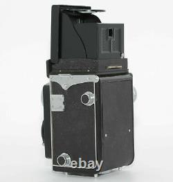 NEAR MINT Yashicaflex Yashica TLR Camera 80mm f/3.5 Yashikor Japan send #077