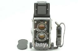 NEAR MINT with Grip Mamiya C33 Pro TLR Camera Sekor 80mm F/2.8 Lens From JAPAN