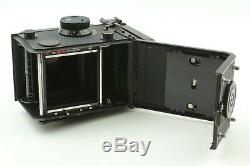 NEAR MINT with Hood Yashica Mat 124G TLR Film Medium Format Camera From JAPAN
