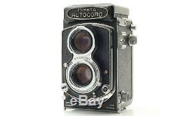 Near MINT MINOLTA Autocord Type I First Model 6x6 TLR Film Camera From Japan