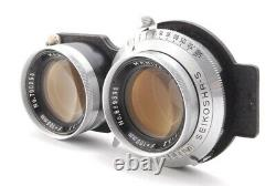 Near MINT- Mamiya C330 Pro Body + Sekor 105mm f3.5 + Blue Dot 65mm f3.5 JAPAN