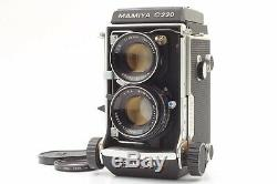 Near Mint MAMIYA C220 Pro 6x6 TLR With Sekor 80mm F2.8 Blue Dot. From JAPAN #225