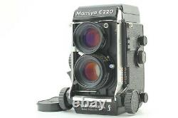 Near Mint Mamiya C220 Pro F TLR Camera with Sekor S 80mm F2.8 Lens From Japan
