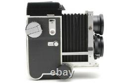Near Mint Mamiya C220 Pro TLR with Sekor 80mm f/2.8 Blue Dot Lens From JAPAN