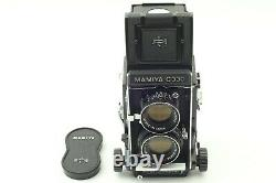 Near Mint Mamiya C330 Pro (F) TLR Blue Dot SEKOR DS 105mm F3.5 Lens from JAPAN