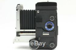 Near Mint Mamiya C330 Pro S TLR + Sekor DS 105mm F3.5 Blue Dot Lens From JAPAN