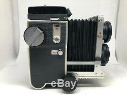 Nr Mint Mamiya C220 Pro TLR + Sekor 80mm F2.8 Blue Dot Lens from Japan 1123