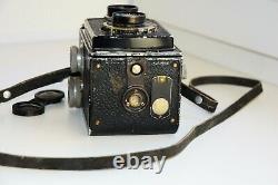 OLD RARE ROLLEICORD DPR VINTAGE 6x6 Medium Format Germany TLR film Camera EXC