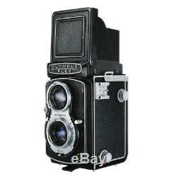 OLYMPUS OLYMPUSFLEX A3.5 II TLR FILM CAMERA + D. ZUIKO 75mm F3.5 LENS / 30D W