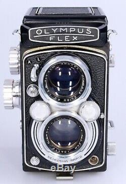 Olympus Flex. BII from 1952. 75mm F2.8 E. Zuiko F. C lens