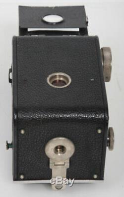 Original Rolleiflex TLR Camera 6x6 Zeiss Tessar 75mm f3.8 Lens, case, 3.8