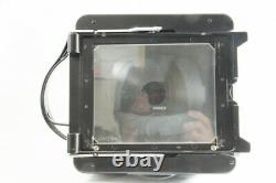 RARE EXC WISTA 4x5 Large Format TLR Wistar 130mm F5.6 Lens and Back Glass #2481