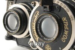 RARE! EXC5 VOIGTLANDER SUPERB TLR FILM CAMERA With HELIAR 7.5CM 75MM F3.5 LENS