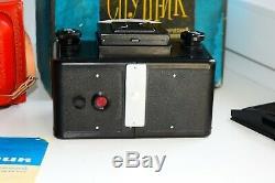 RARE Lomo SPUTNIK STEREO Medium Format Soviet TLR film Camera EXC