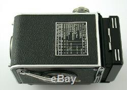 ROLLEI Rolleiflex 2,8C 2,8 C Planar F2,8 prime 6x6 TLR + extras SERVICED