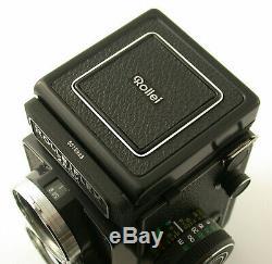 ROLLEI Rolleiflex 2,8GX 2,8 GX 6x6 prime classic TLR unused NEW NEU Sammlung