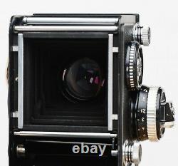 ROLLEIFLEX 2.8 F 80mm Schneider Kreuznach Xenotar DBP Rollei F&H 6x6 TLR AAAA+++