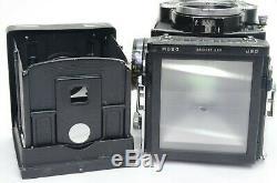 ROLLEIFLEX 3.5F Planar 75mm f/3.5 with accessories TLR Camera