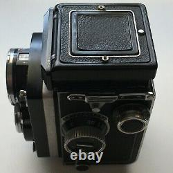 ROLLEIFLEX TLR Schneider Kreuznach Xenotar 80mm F 2.8 C # 1467144 (age 1955)