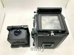 Rare S MINT Mamiya C330 Pro S + Sekor S 80mm f/2.8 Blue Dot Lens from Japan