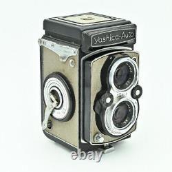 Rare Yashica-Auto (YashicaMat) Twin Lens TLR 120 6x6 Film Camera. EXC VALUE