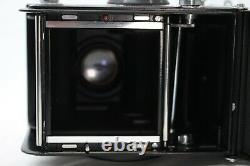 Rare Yashica MAT EM TLR Film Camera withLight Meter Shutter Working #TL991