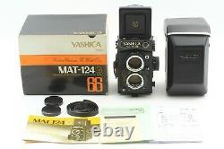 Read! CLA'd MINT / Meter Works Yashica Mat-124G Medium Format TLR Camera Japan