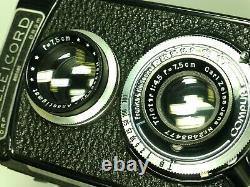 Rollei Rolleicord II + Zeiss Triotar 7.5cm F4.5