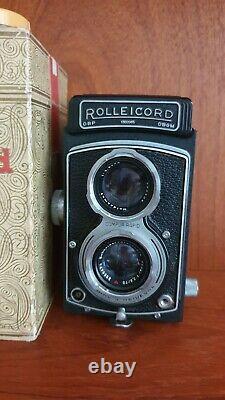 Rollei Rolleicord Vb Type 1 medium format Twin Lens Reflex (TLR) camera