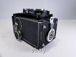 Rollei Rolleicord Vb Type 2 6x6 120 Film Medium Format Tlr Camera 75mm F3.5 Lens