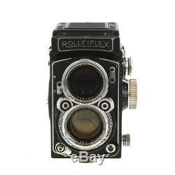 Rollei Rolleiflex 2.8 C Planar (BAY III) Medium Format TLR Camera BG